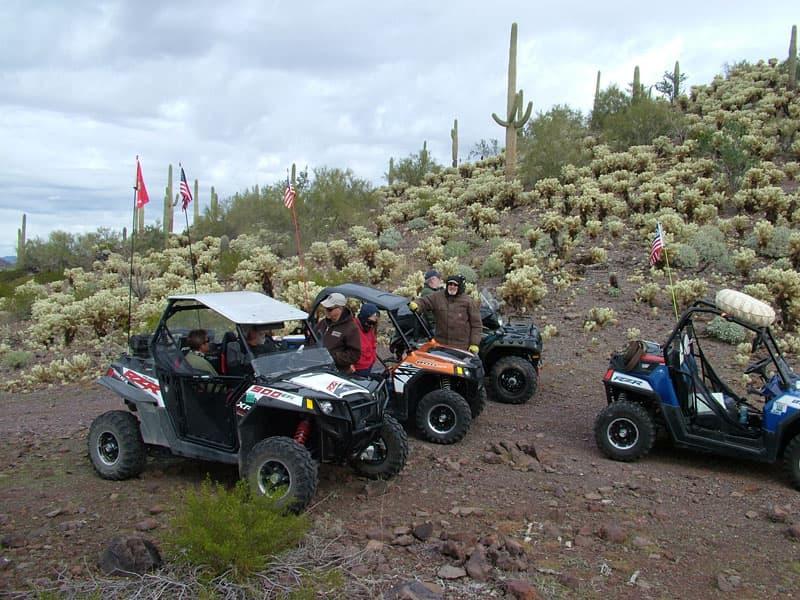 ATV Ride Near Bender Station AZ