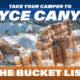 Bryce Canyon RV Bucket List