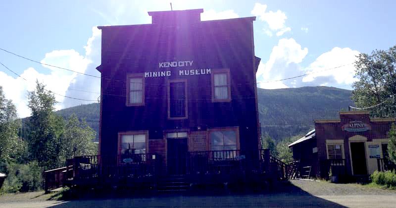 Keno Mining Museum Yukon