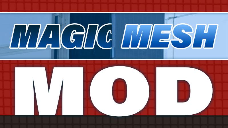 Magic Mesh Camper Mod