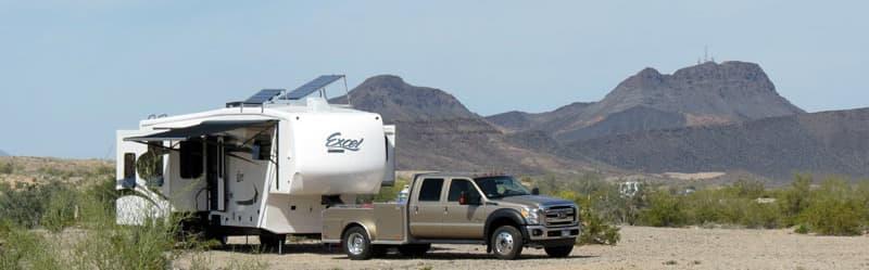 New Trailer In The Desert Near Parker AZ