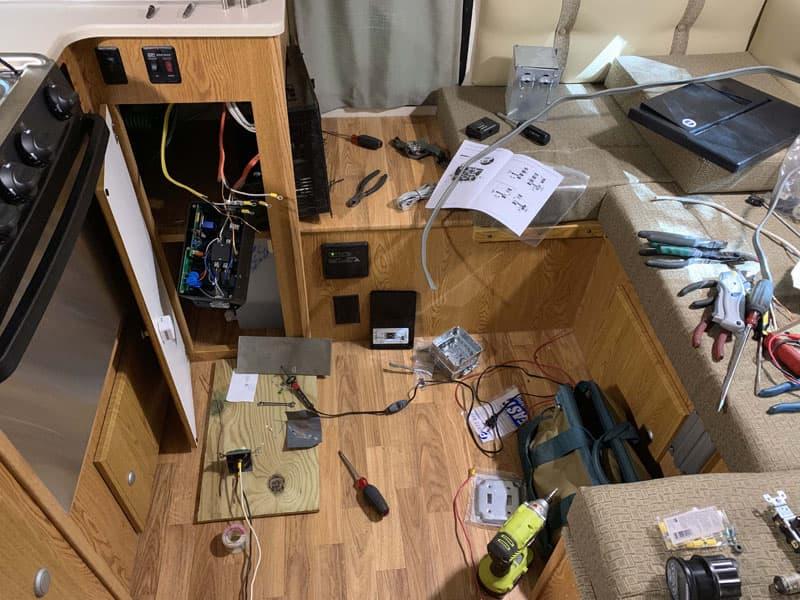 Rewiring For Mods Camper