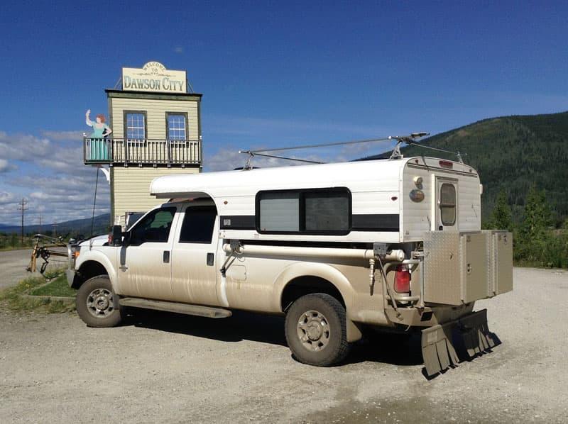 Routes To Alaska Dawson City Yukon