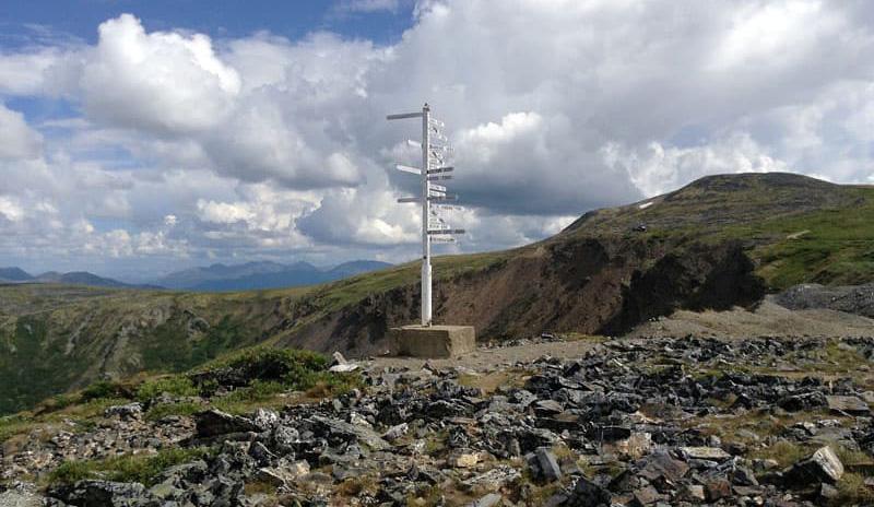 Routes To Alaska Keno Signpost