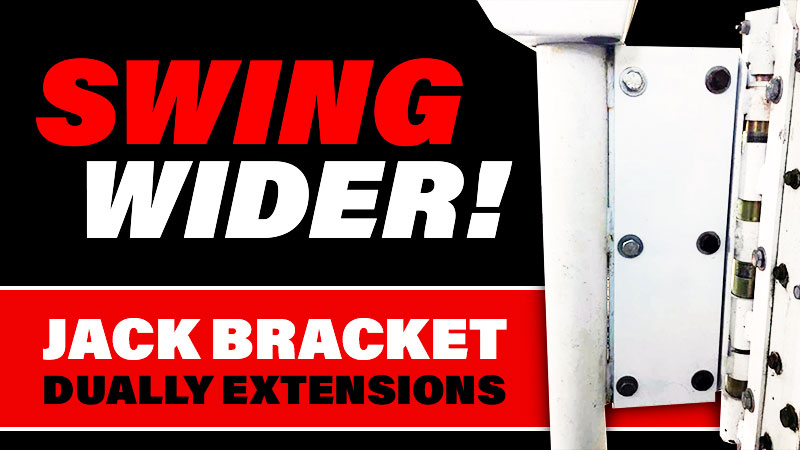 swing out dually brackets
