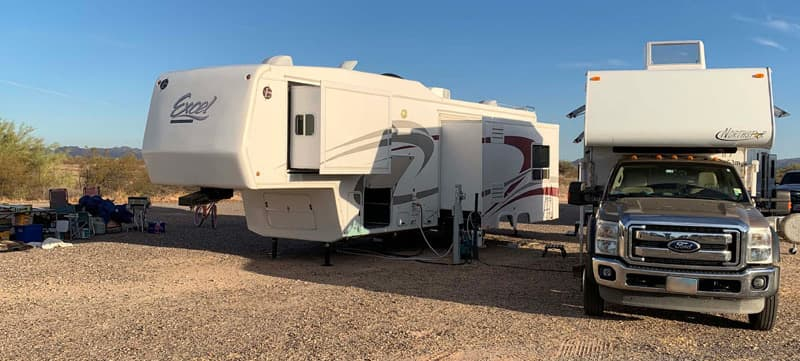 Transition From Camper To 5th Wheel Trailer