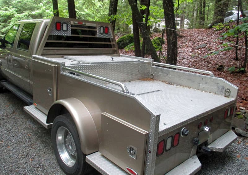 Truck Bed Before Modification