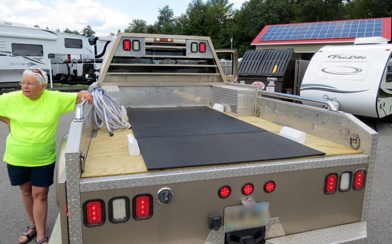 Truck Bed Modification Complete