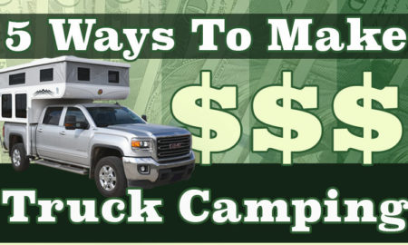 Make money while truck camping