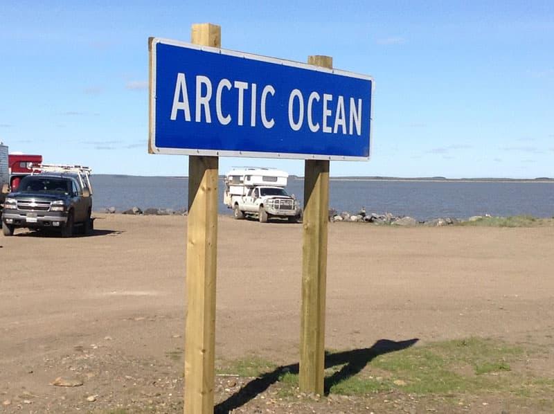Arctic Ocean Sign