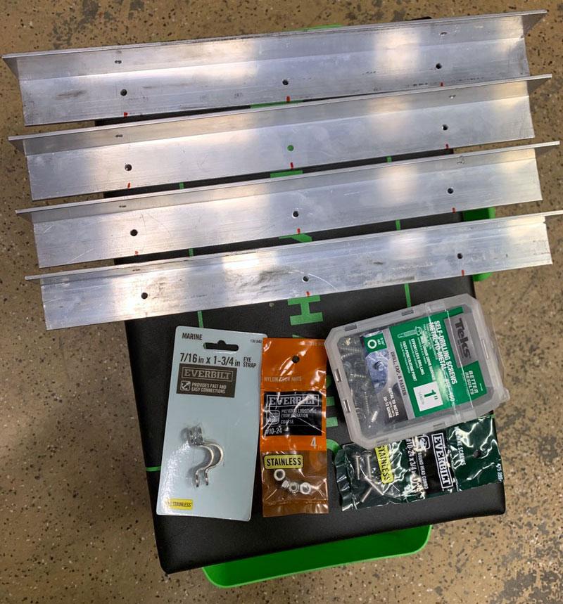 Storage In Overhang Parts