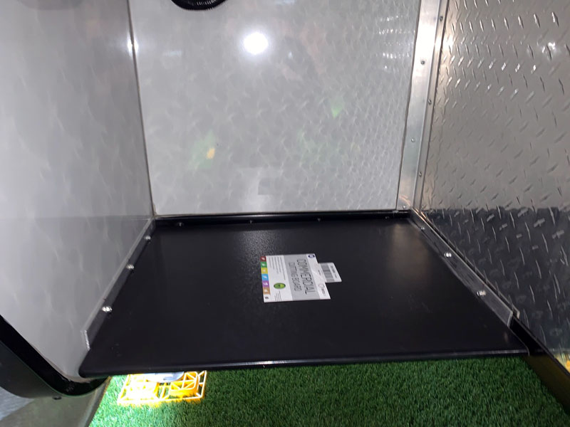 Storage In Overhang Trays 1