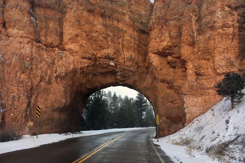 Tunnel Near Bryce Canyon