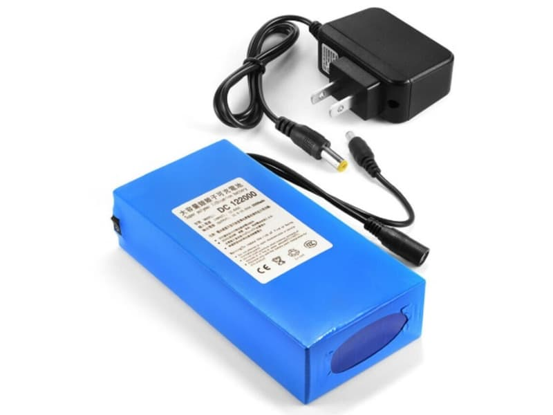 12V 3000 20000mAh Lithium Rechargeable Li Ion Battery Pack