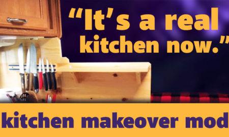 Camper Kitchen Makeover