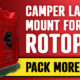 Rotopax mount for RV ladder