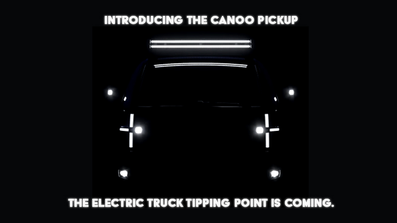 Canoo Electric Truck Introduction