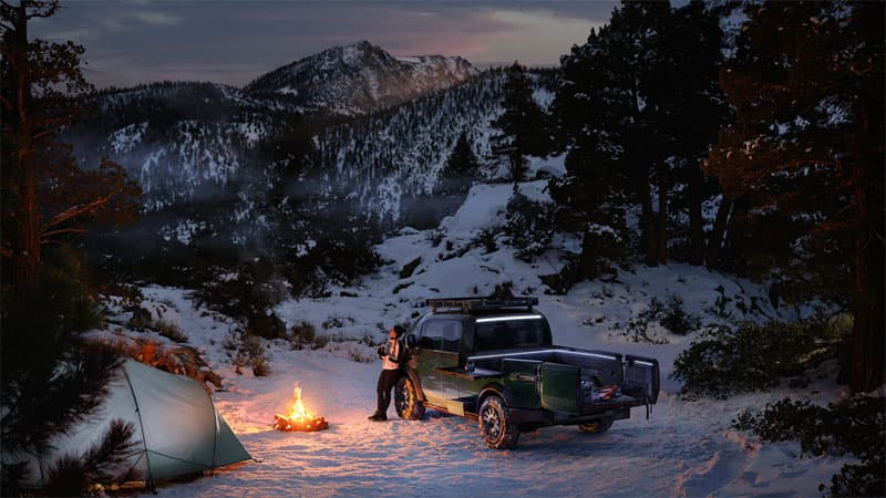 Canoo Pickup Truck For Campers