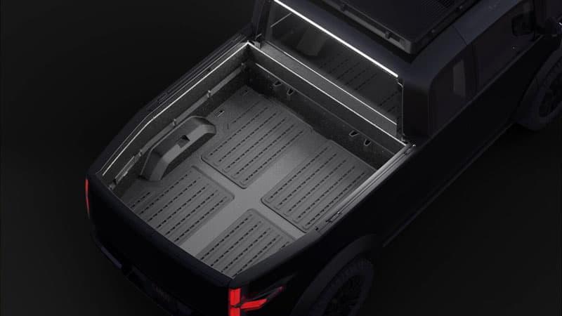 Canoo Truck Bed Dimensions
