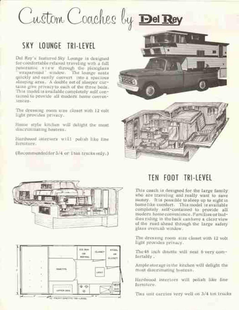 Del Rey Custom Coaches Brochure