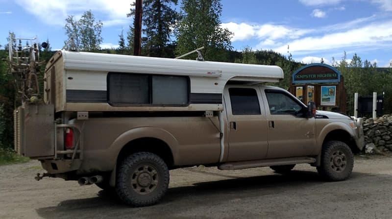 Dempster Dirt Alaskan Camper Coated