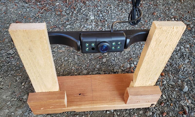 Holding Tank Camera Stand
