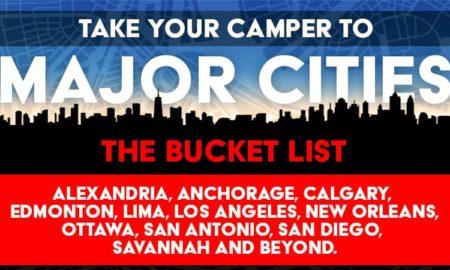 Camping in Major Cities Bucket List