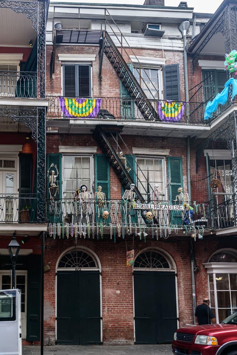 New Orleans Skull Paradise