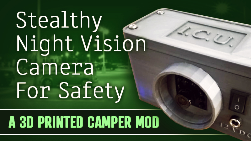 Night Vision Camera For Campers