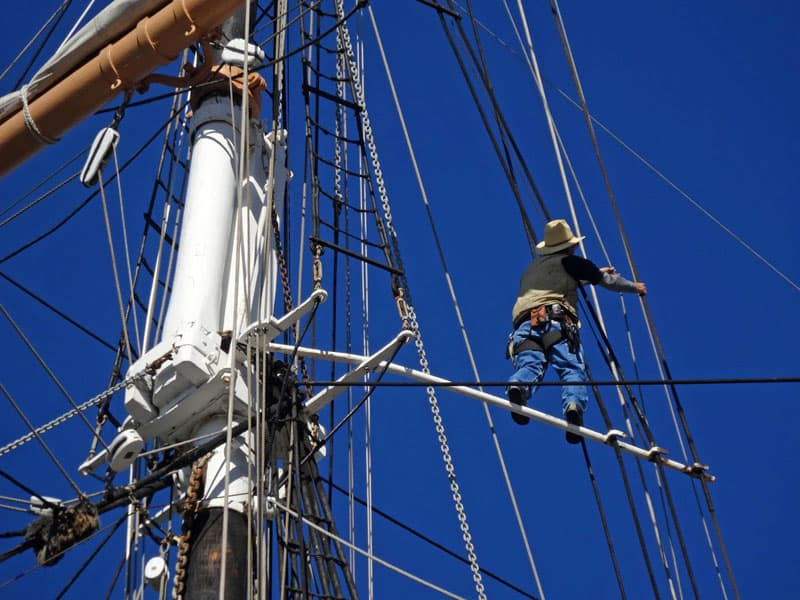 San Diego Tall Ship At Maritime Museum