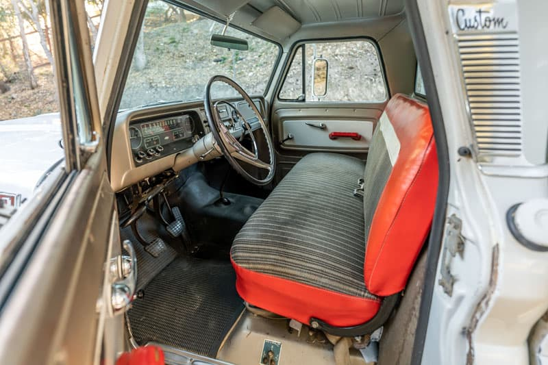 Travel Queen Inside Truck