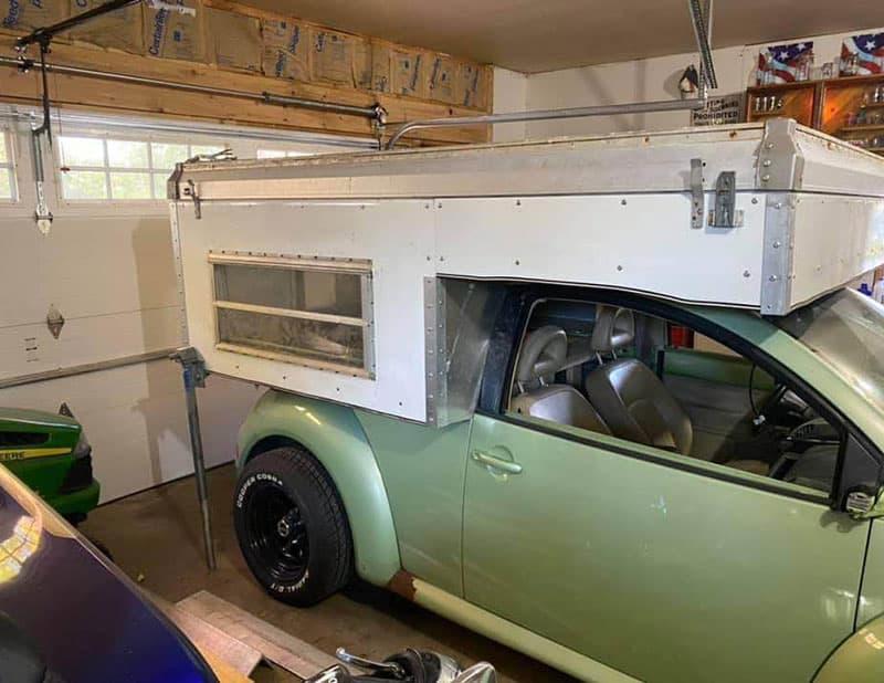 VW Beetle Camper Exterior