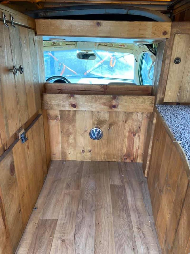 VW Beetle Camper Interior Floor