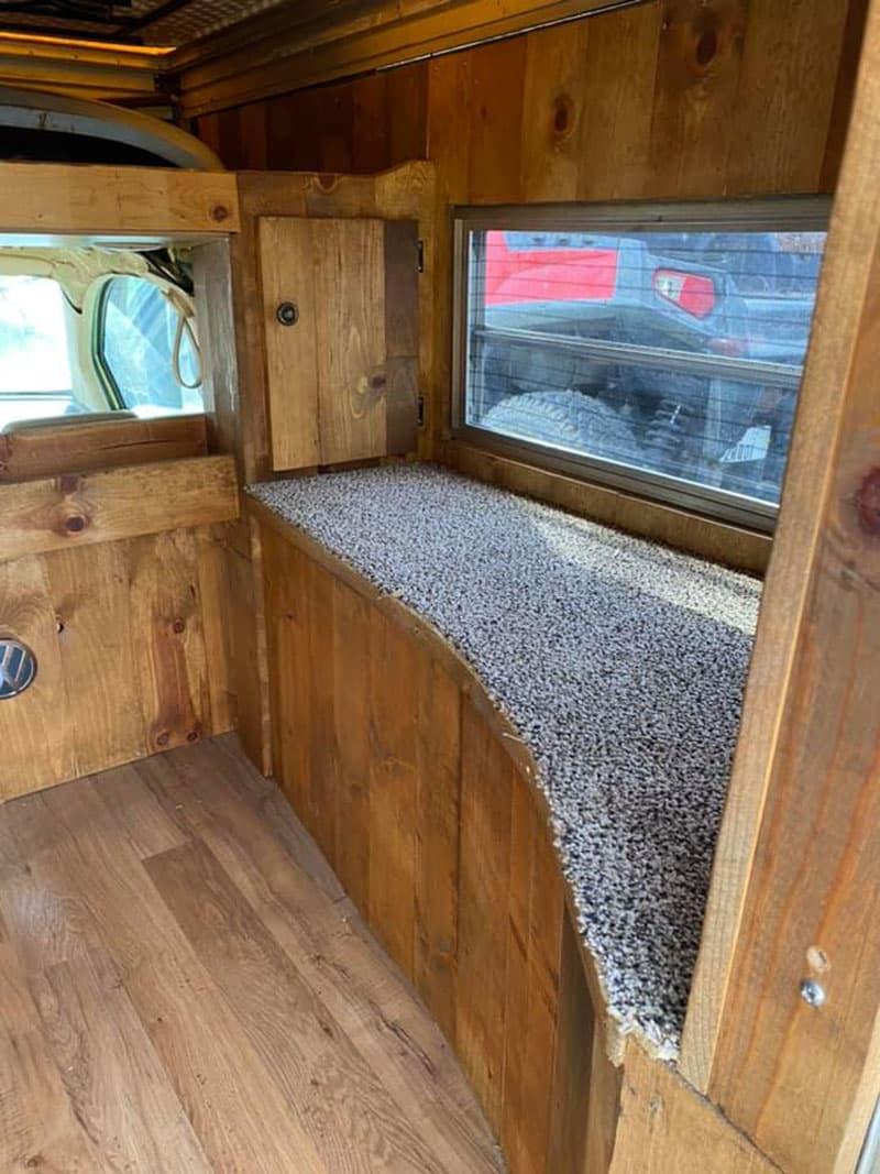 VW Beetle Camper Interior Passenger Side