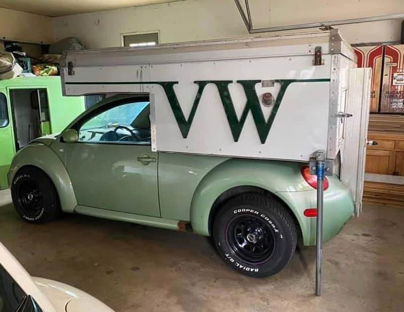 VW Beetle Exterior Camper