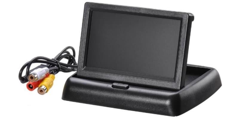 Foldable LCD Monitor