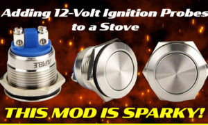 12 volt ignition probes for a RV stove