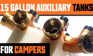 15 gallons auxiliary tanks for campers