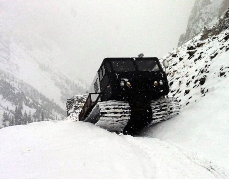 1964 Thiokol 1200B Snowcat Deep Snow