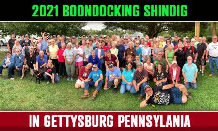 Gettysburg Boondockig Shindig 2021