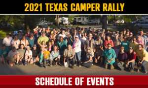 Texas Truck Camper Rally Announcement
