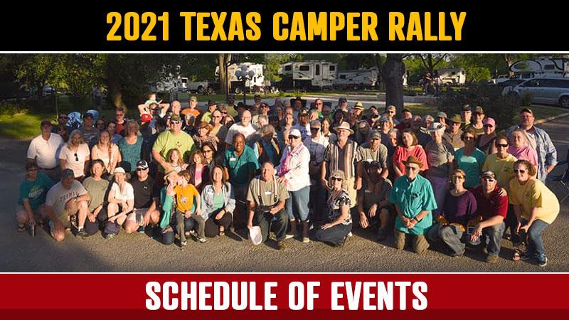 Texas Truck Camper Rally Announcement