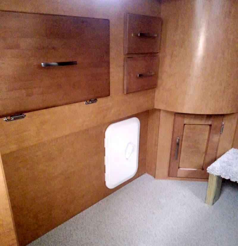 Access Panel Under Kitchen Area