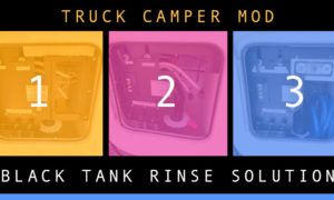 Black Tank Rinse Solution for Campers and RVs