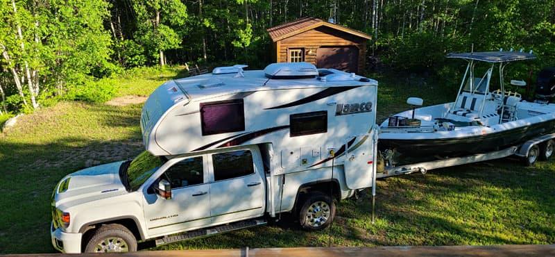 Camping At Lake Vermilion