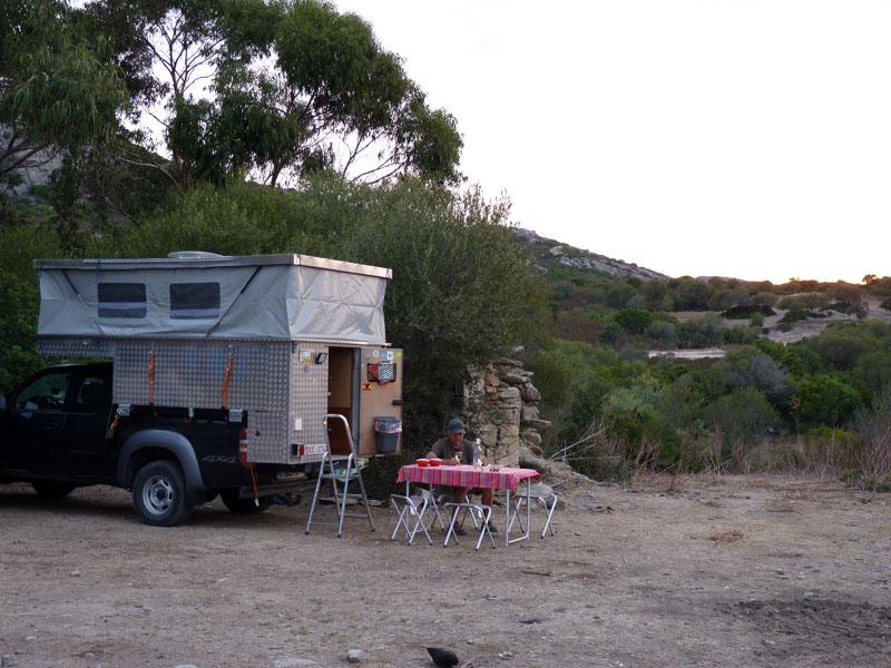 Camping De Saleccia In The Agriates Desert