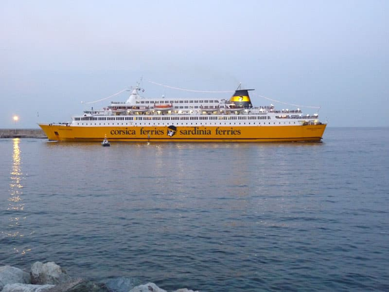 Corsica Ferry System