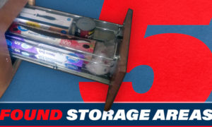 Five Found Storage Areas
