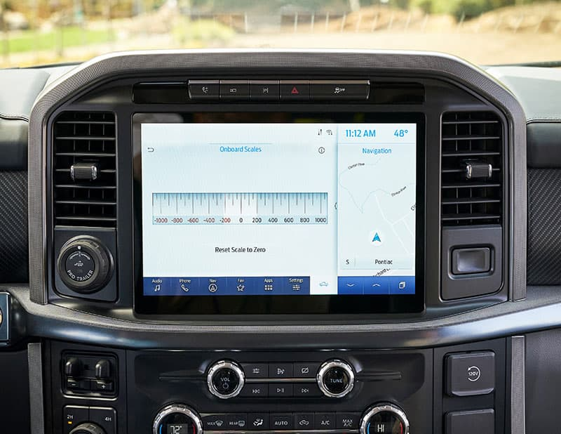 Ford Scales Infotainment Scales Reset