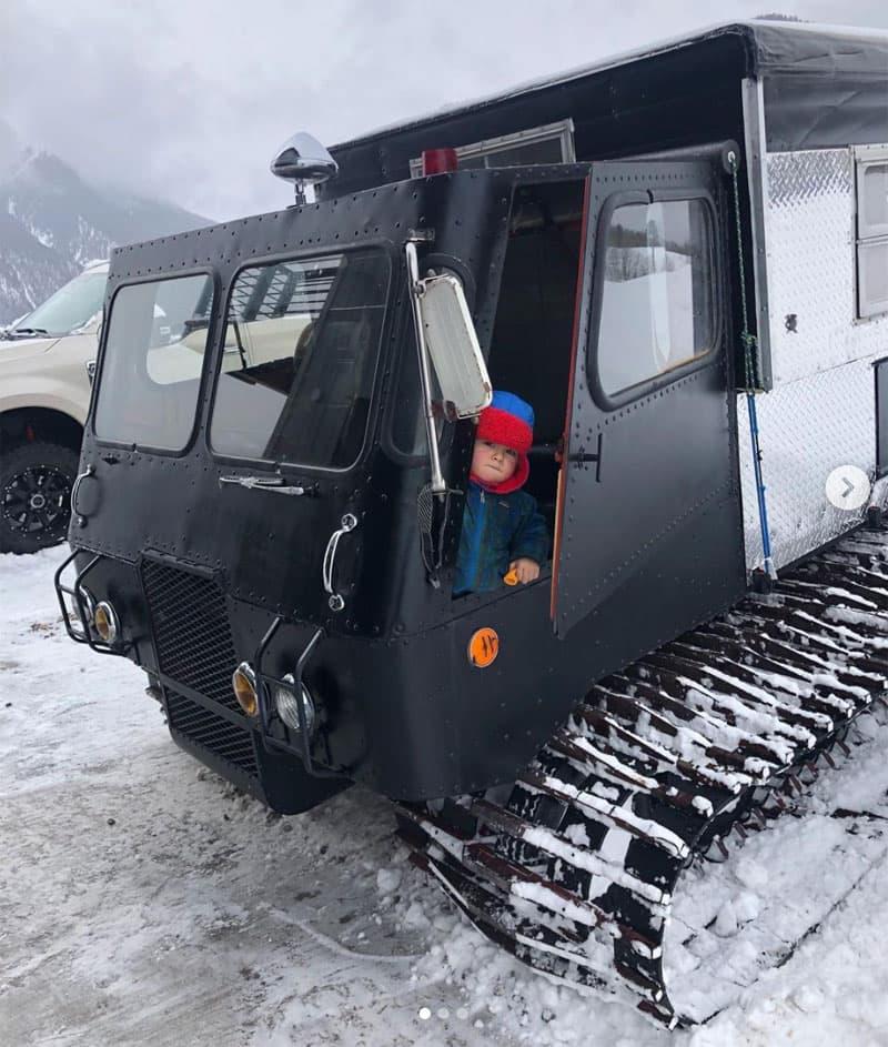 Getting Ready To Drive Thikol Snowcat